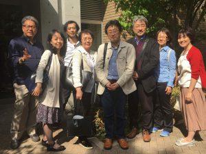 アドラー心理学を究めた八巻先生、深澤先生、梶野先生と協会スタッフの皆様と共に初めての顧問会議。