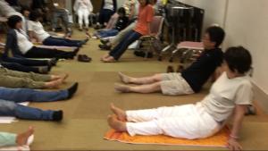 アドラー心理学をベースに臨床の現場で活躍する深沢先生による、ゆる体操講座。
